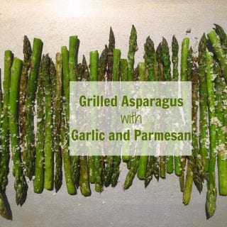 Tender and Flavorous Grilled Asparagus with Garlic and Parmezan. Perfect addition that will compliment any of your meat dishes.