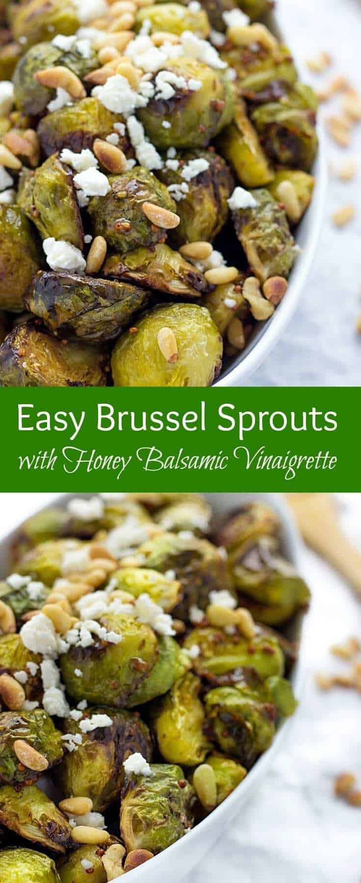 Brussel Sprout Recipes Honey Balsamic