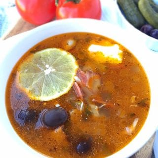 Solyanka Recipe (Russian Meat Soup)
