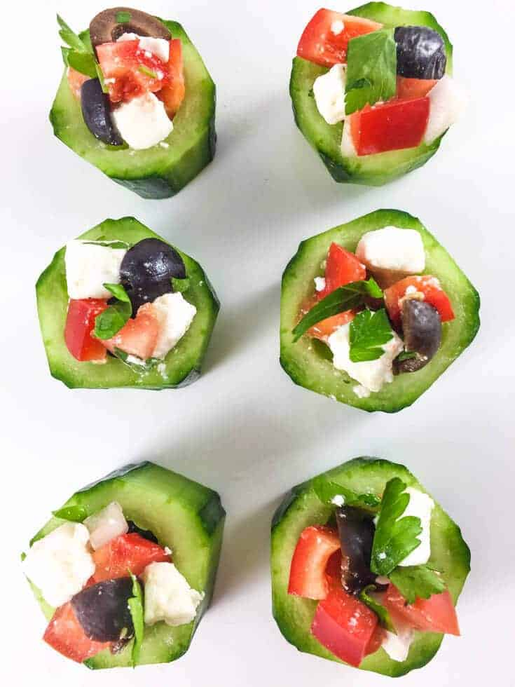 Cucumber cups are a simple and delicious party appetizer that will go fast. Combination of different textures and tastes make this simple dish a real treat.