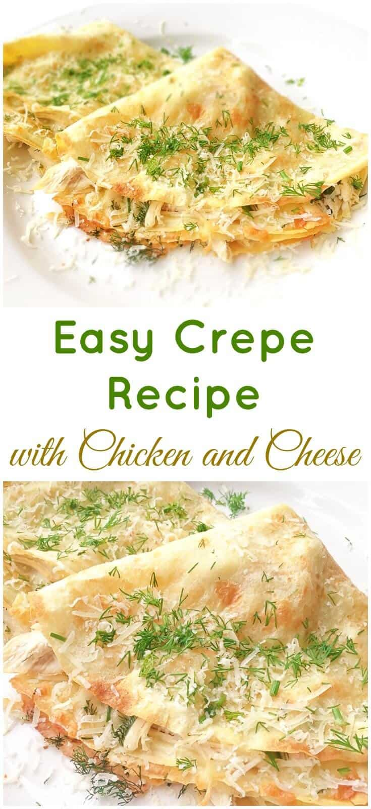 Crepe Recipe Filling Cream Cheese