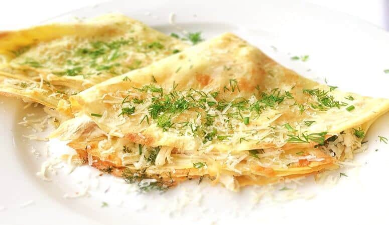 Easy Crepe Recipe With Chicken And Cheese