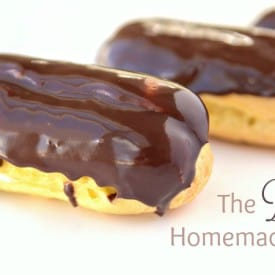 Easy Chocolate Eclairs Recipe