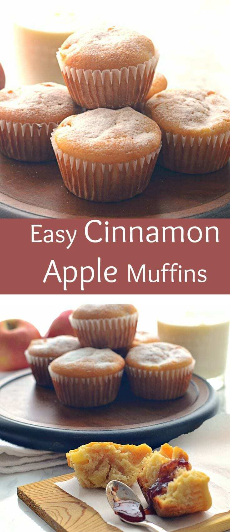 If you're looking for a quick and delicious dessert, these cinnamon apple muffins are a quick and easy bake. Filled with crispy apple and aromatic cinnamon, this dessert is a crowd pleaser.