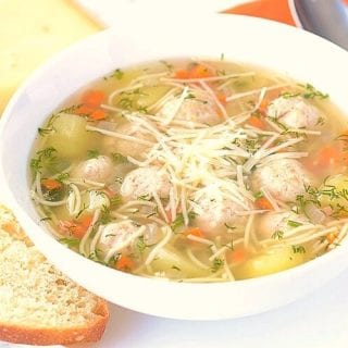 This Italian Meatball Soup is full of warm, comforting flavors. It's a staple recipe everyone should know. One spoon and all your problems will fade away.
