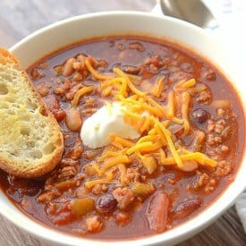 Award Winning Turkey Chili Recipe