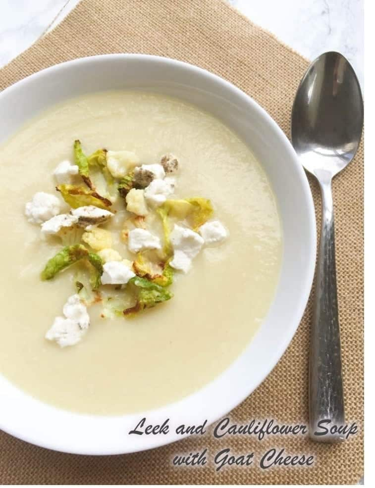 Cream Of Mushroom Soup With White Wine And Leeks Recipe ...