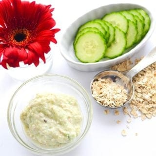 Homemade Cucumber Face Mask (Easy Recipe)