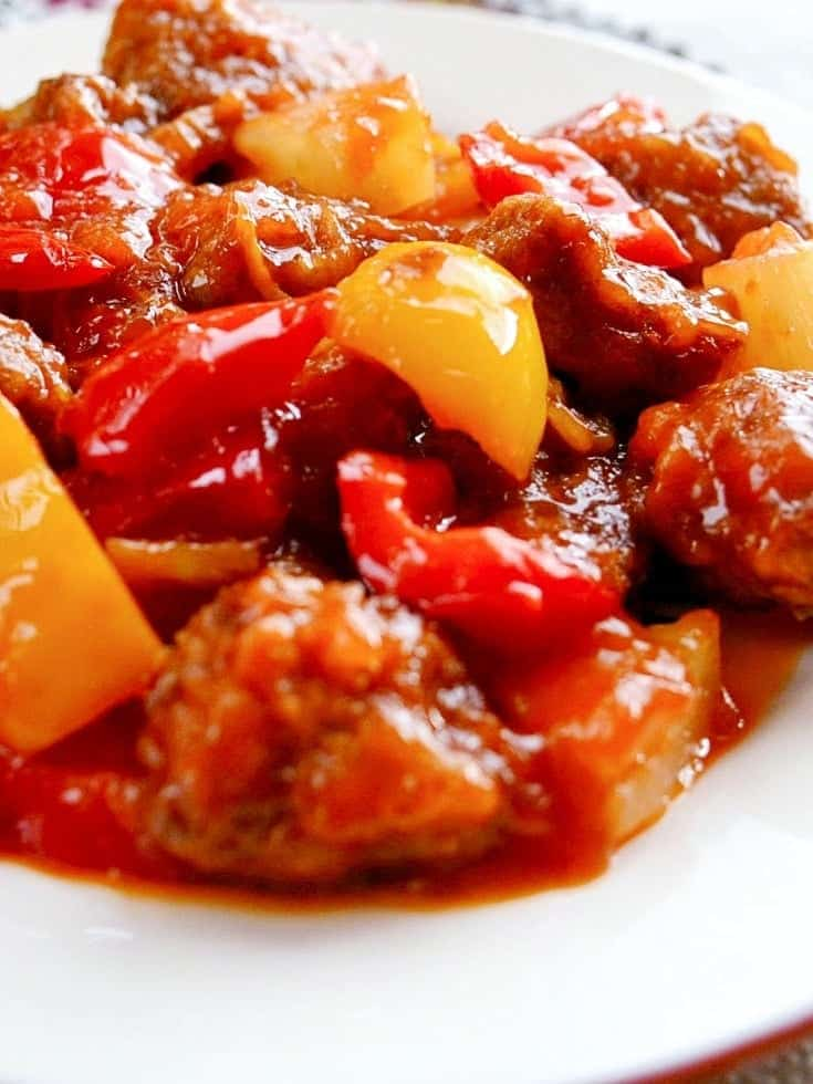 Pineapple-pork-tenderloin-in-ginger-tomato-sauce