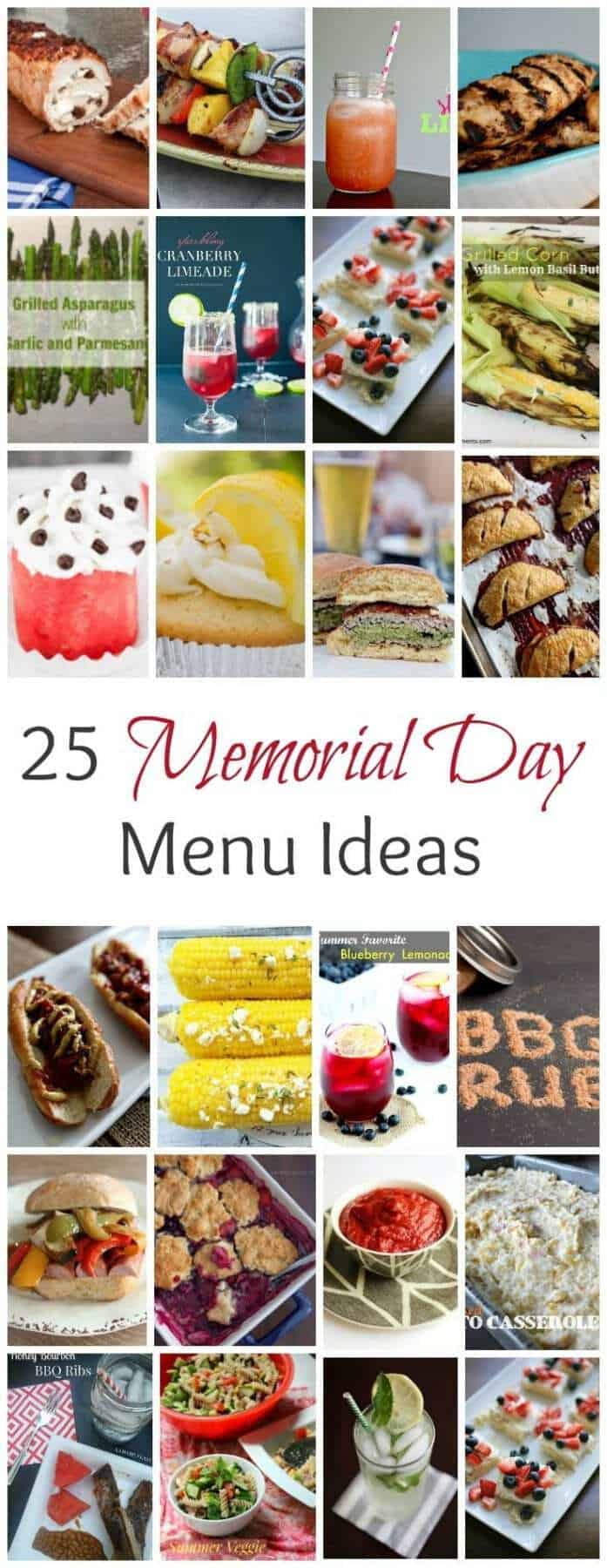 Start your season off right with these scrumptious Memorial Day Menu Ideas that will make your BBQ party fun and delicious.