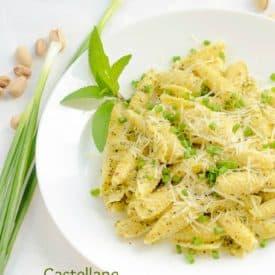 Castellane With Mint Pistachio Pesto