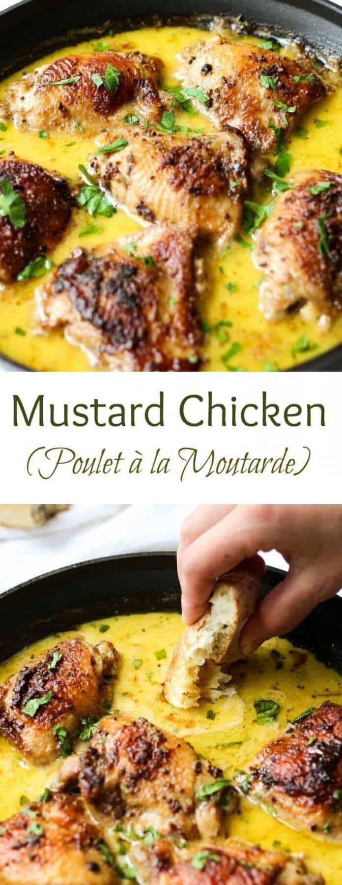 Mustard Chicken | Creamy Mustard Chicken | Mustard Chicken Recipe | Creamy Mustard Chicken Comfort Food