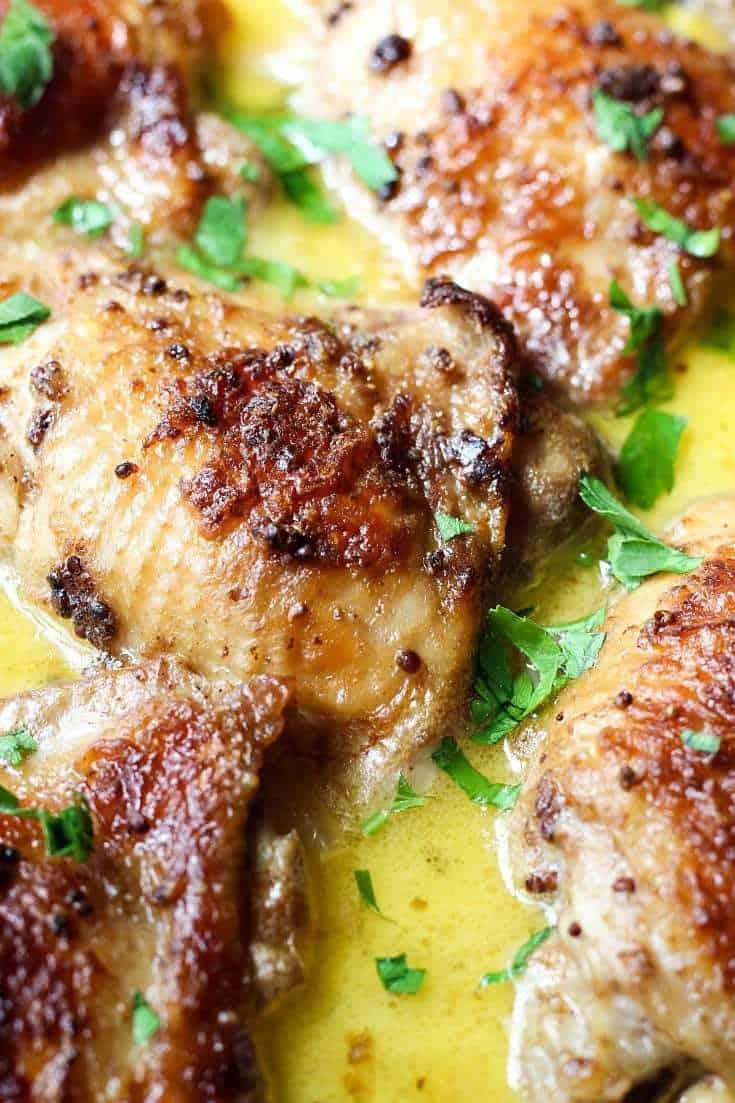 Mustard Chicken   Creamy Mustard Chicken   Mustard Chicken Recipe ...