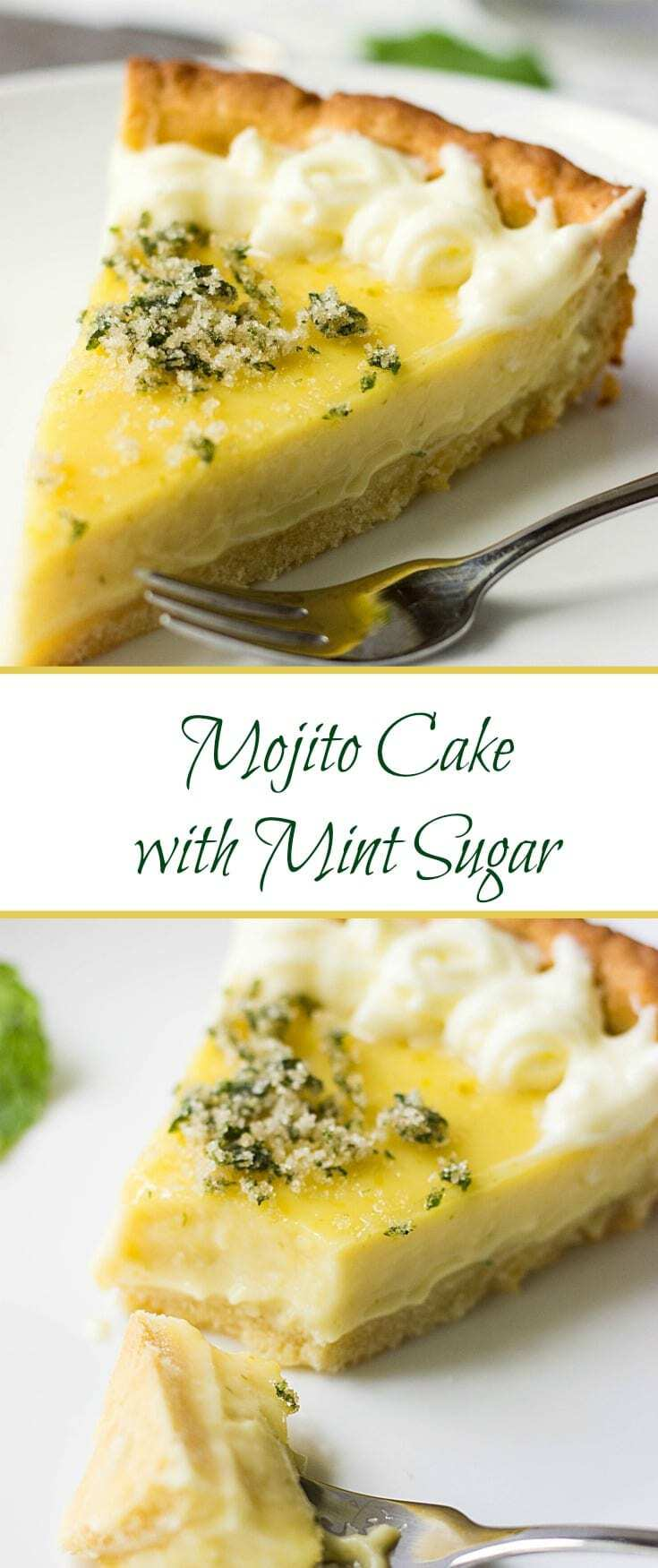 This mouthwatering and scrumptious Mojito cake with Mint Sugar has enough citrusy zing to make you fall in love with this easy dessert.