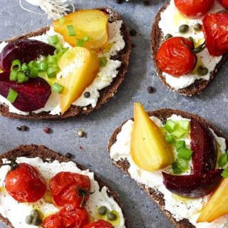 open-faced-sandwiches-wth-labneh