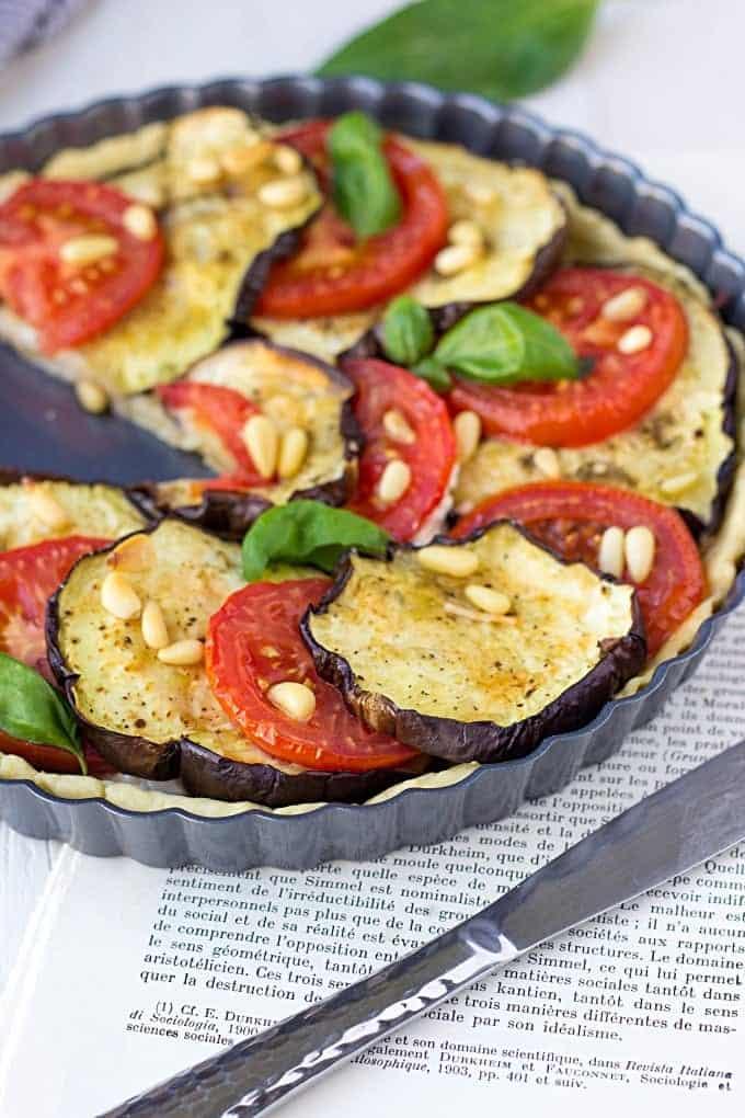 Tomatoes, Goat Cheese, and Arugula Salad