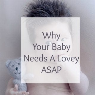 Why Your Baby Needs A Lovey ASAP