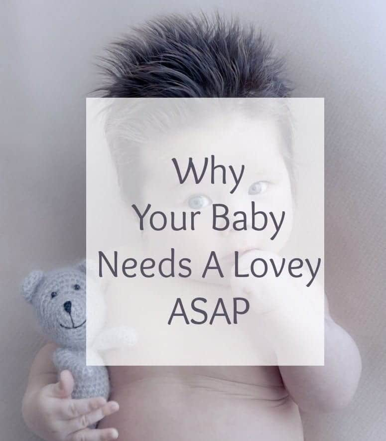 Are you in the beginning of sleep training your precious little one? I've got an advice for you. Get your baby a lovey asap!