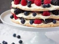 Dacquoise Recipe With Mascarpone Whipped Cream