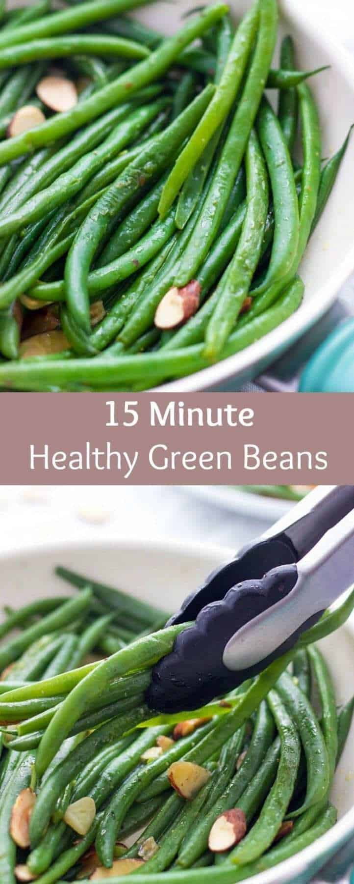 Pan Sautéed green beans