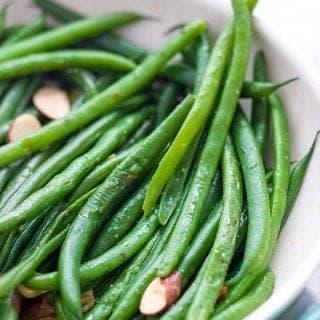 Sautéed Haricot Verts