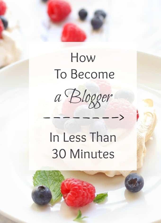 start food blog less minutes