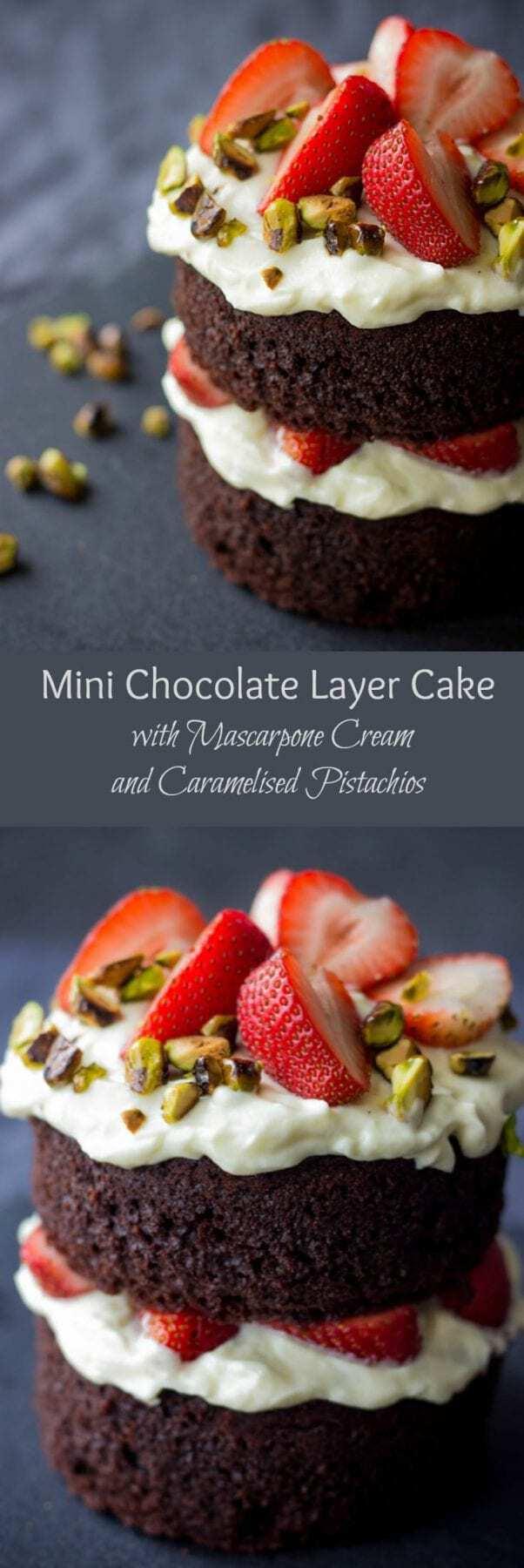Small Chocolate Layer Cake