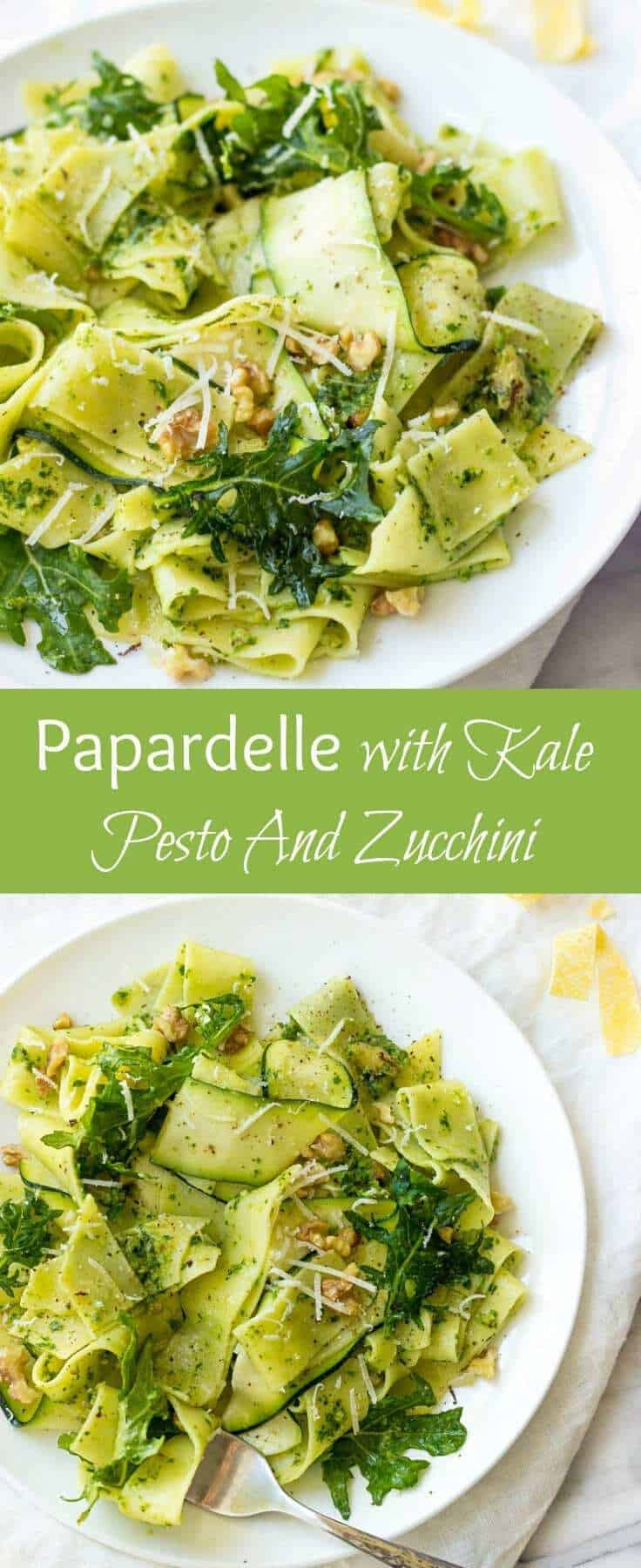 Papardelle Pasta | Healthy Pasta Recipes | Healthy Pasta With Zucchini | Clean Eating Pasta