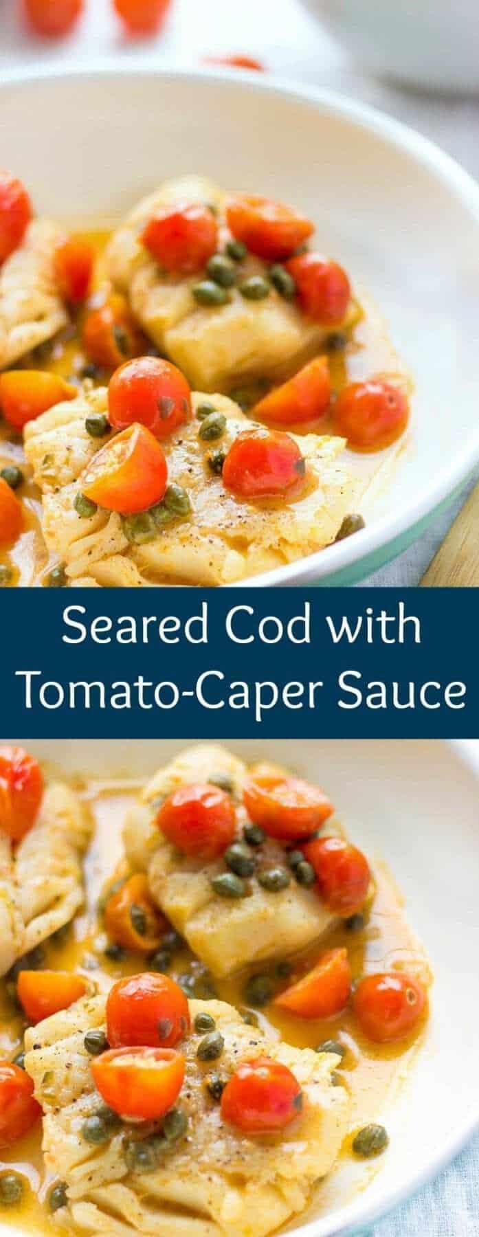 Seared Cod | Seared Cod Recipes | Pan Seared Cod | Cod Recipes