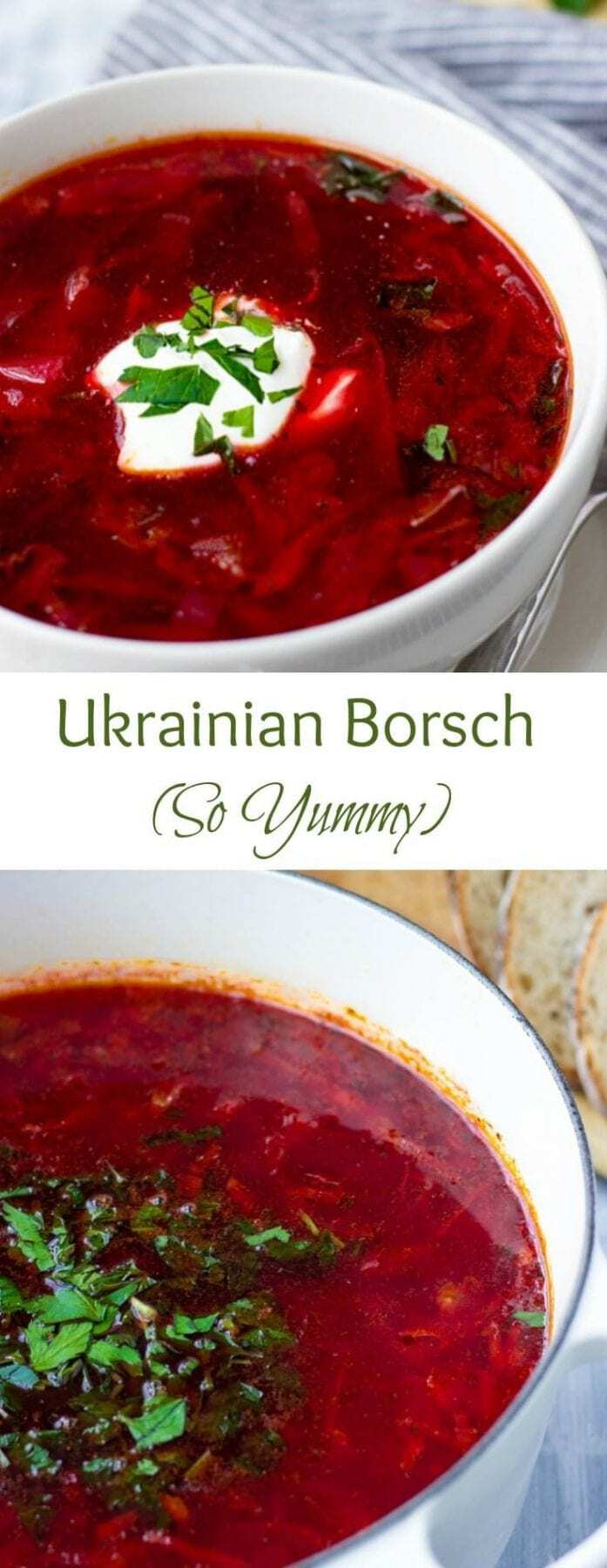 Ukrainian Borscht The Only Recipe You Need Video Lavender Macarons