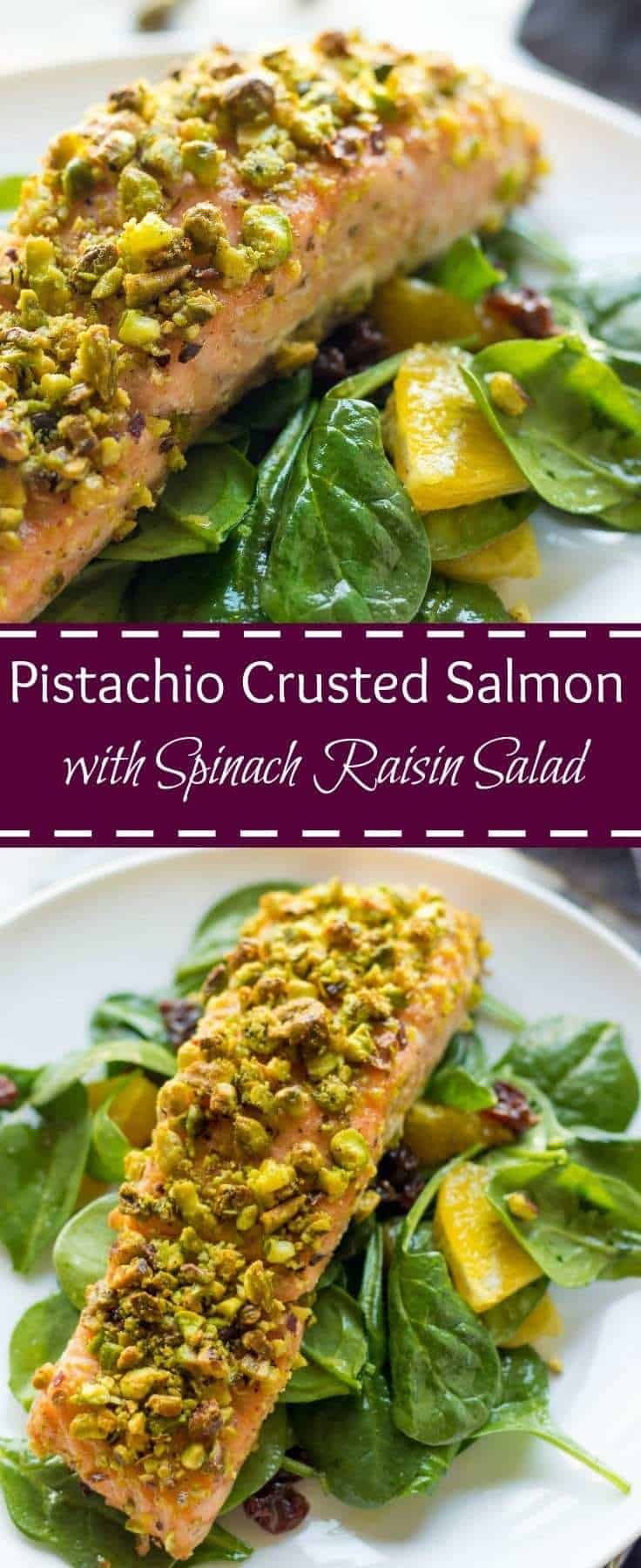Nut Crusted Salmon