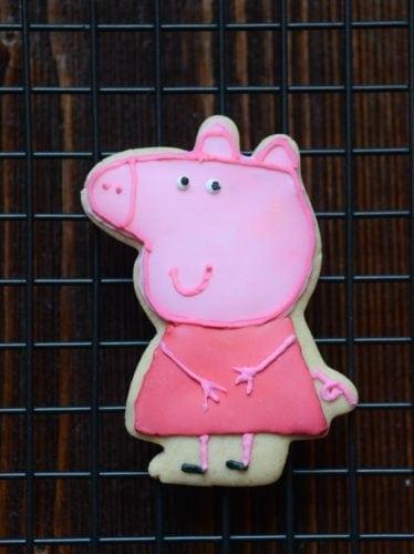 Peppa Pig cookies | Peppa And George cookies | How To Make Peppa Pig Cookies | Peppa Pig Cookie Recipe