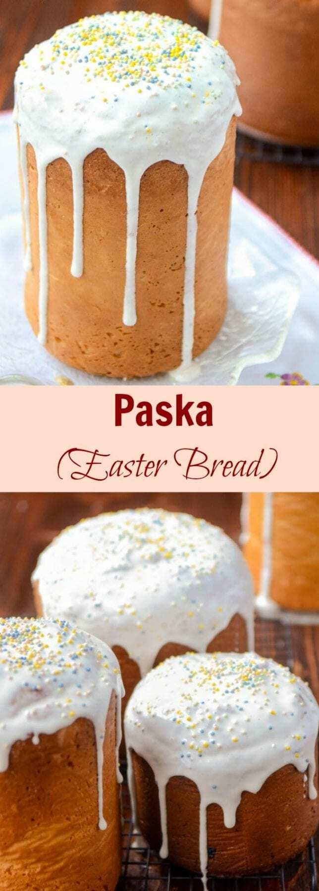 Paska | Kulich | Ukrainian Easter Bread | Easter Paska Bread