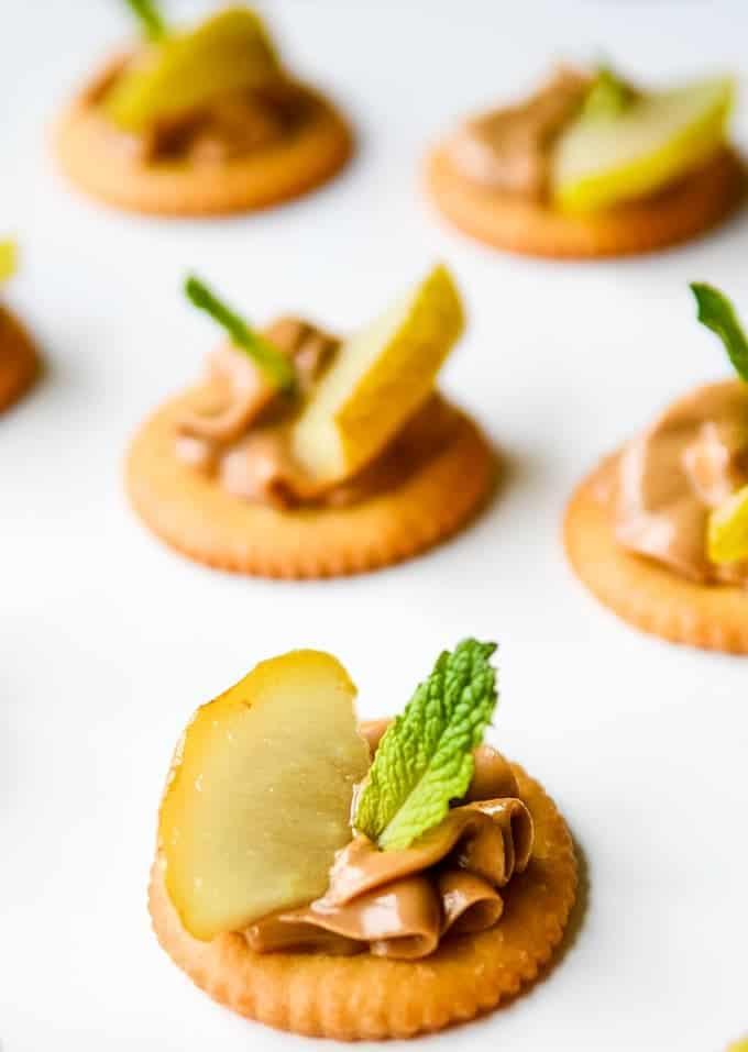 RITZ Crackers Appetizer | Easy Cracker Appetizer | Simple Cracker Appetizer | Peanut Butter Appetizer