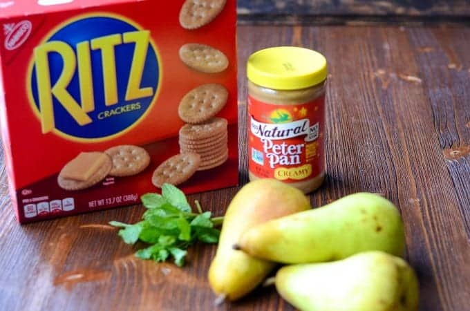 RITZ Crackers Appetizer | Easy Cracker Appetizer | Simple Cracker Appetizer | Peanut Butter Appetizer