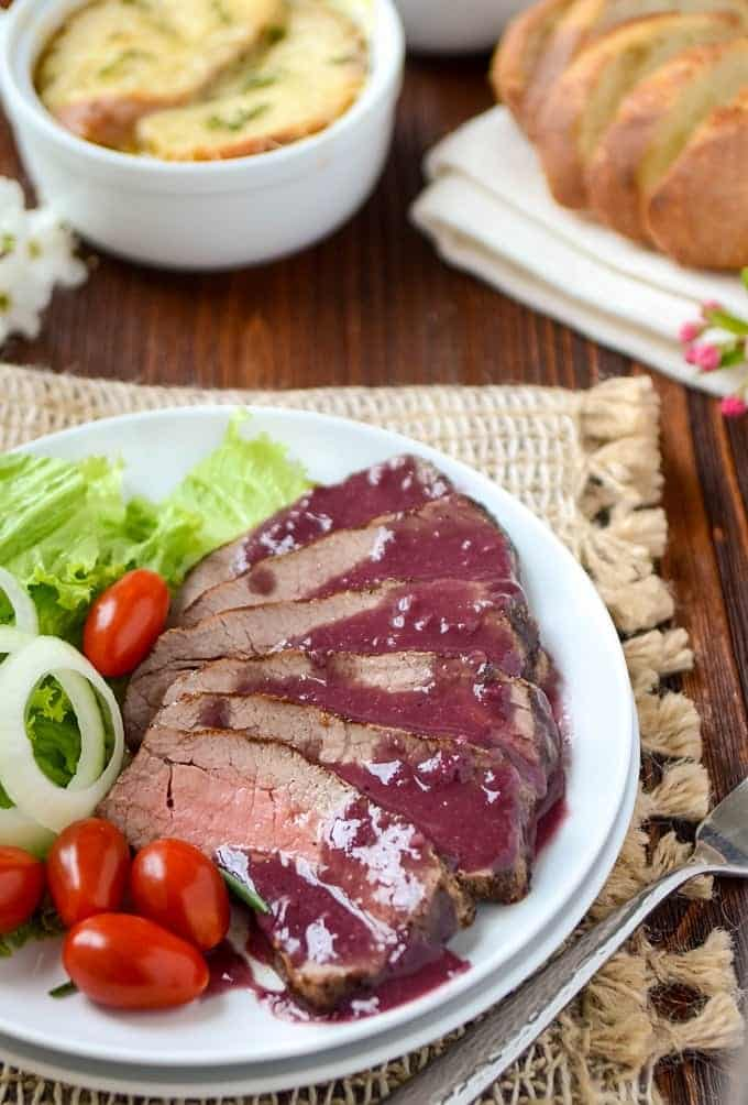 French Recipes For Dinner including Steak Chateaubriand Recipe and French Onion Soup.