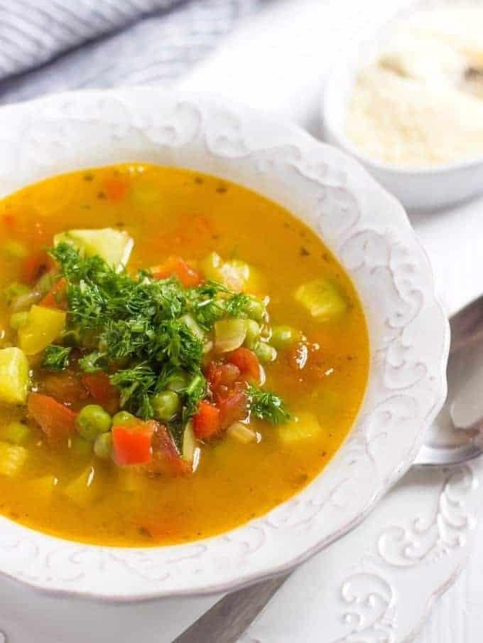 Soupe Au Pistou (Provencal Soup) - Lavender & Macarons