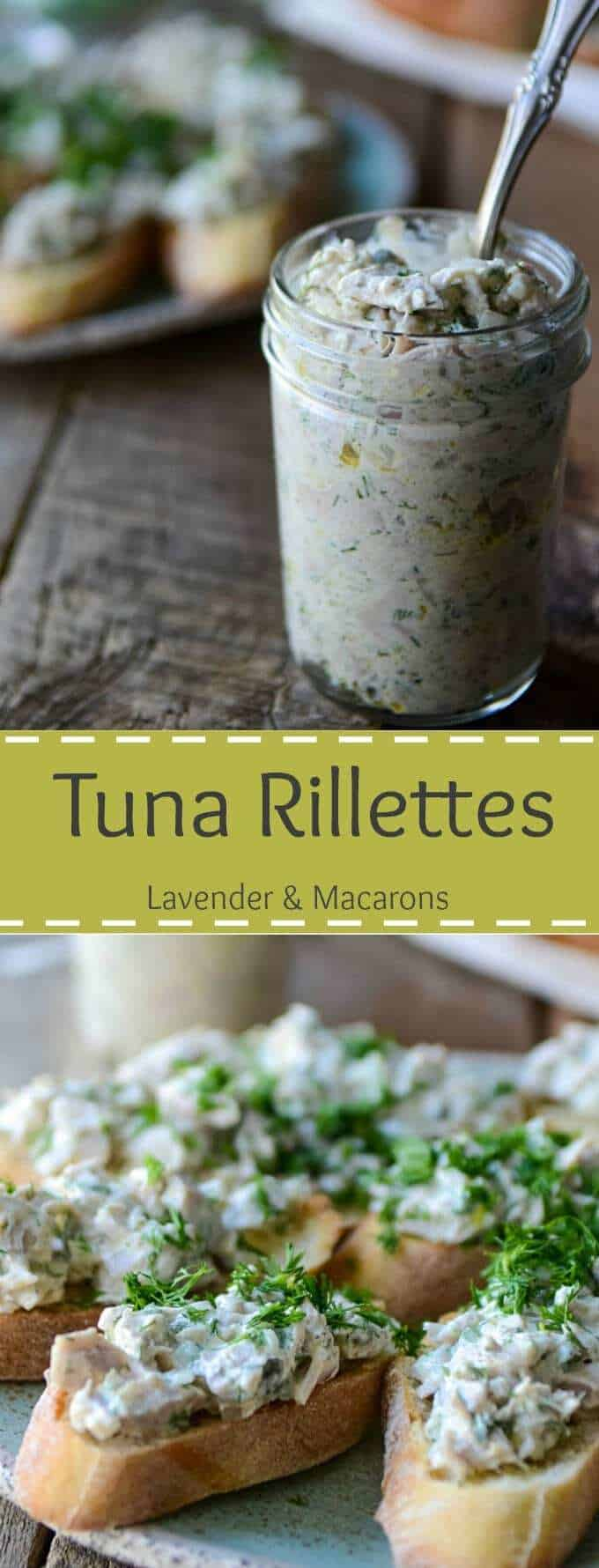 Tuna Rillettes | Tuna Pâté | Tuna Spread | Tuna Pate Recipe