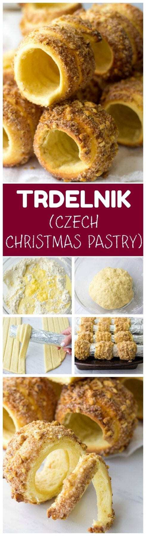 Are you looking for creative Christmas desserts? Surprise your family and friends with traditional Czech recipe - Homemade Trdelnik.