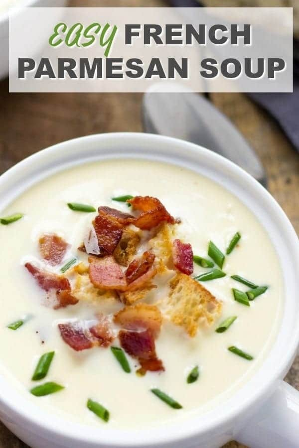 French Parmesan Soup