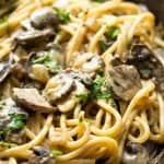 Mushroom Stroganoff Recipe (So Creamy!)