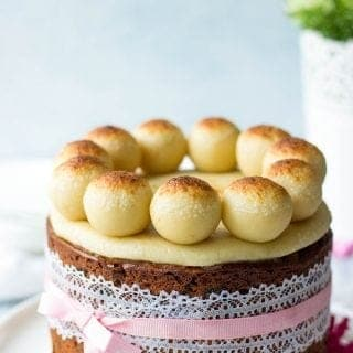 Simnel Cake (British Easter Fruit Cake)