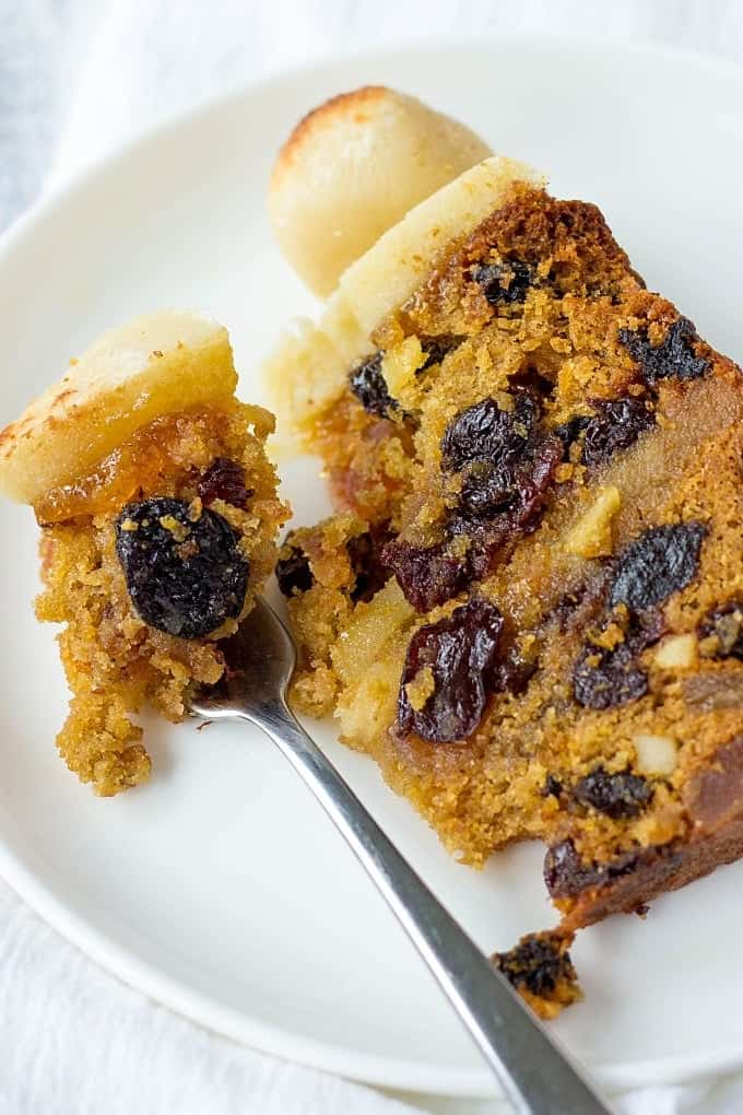 Marzipan Fruit Cake Recipe