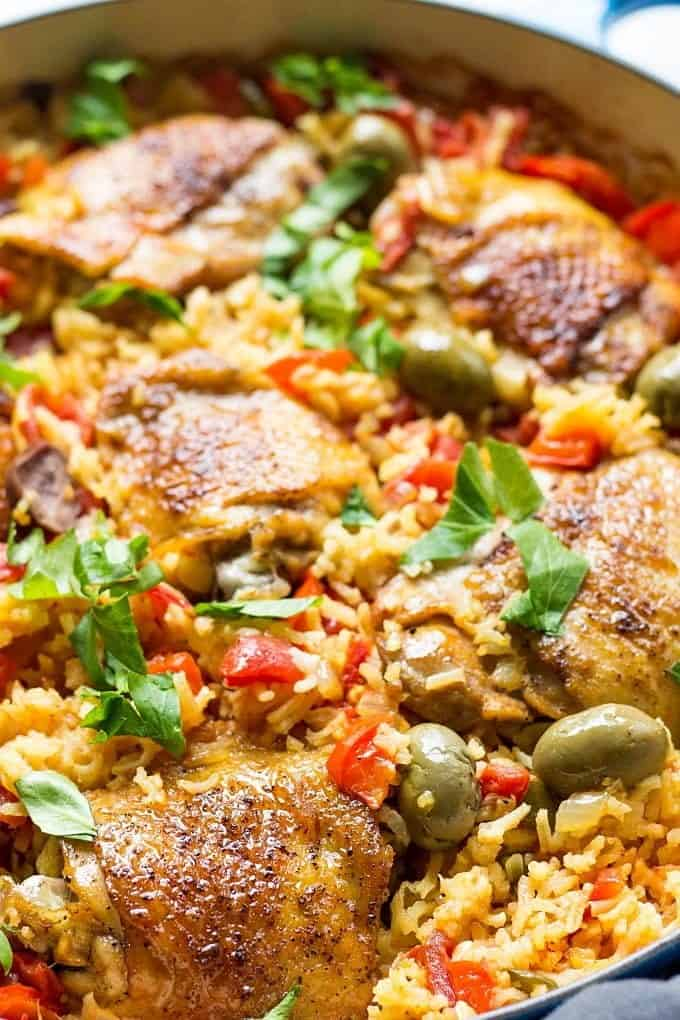 Chicken And Spanish Rice Recipe