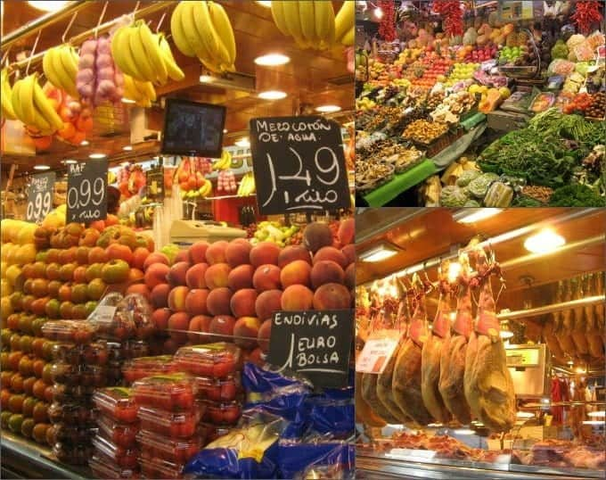 Grocery Market in Barselona