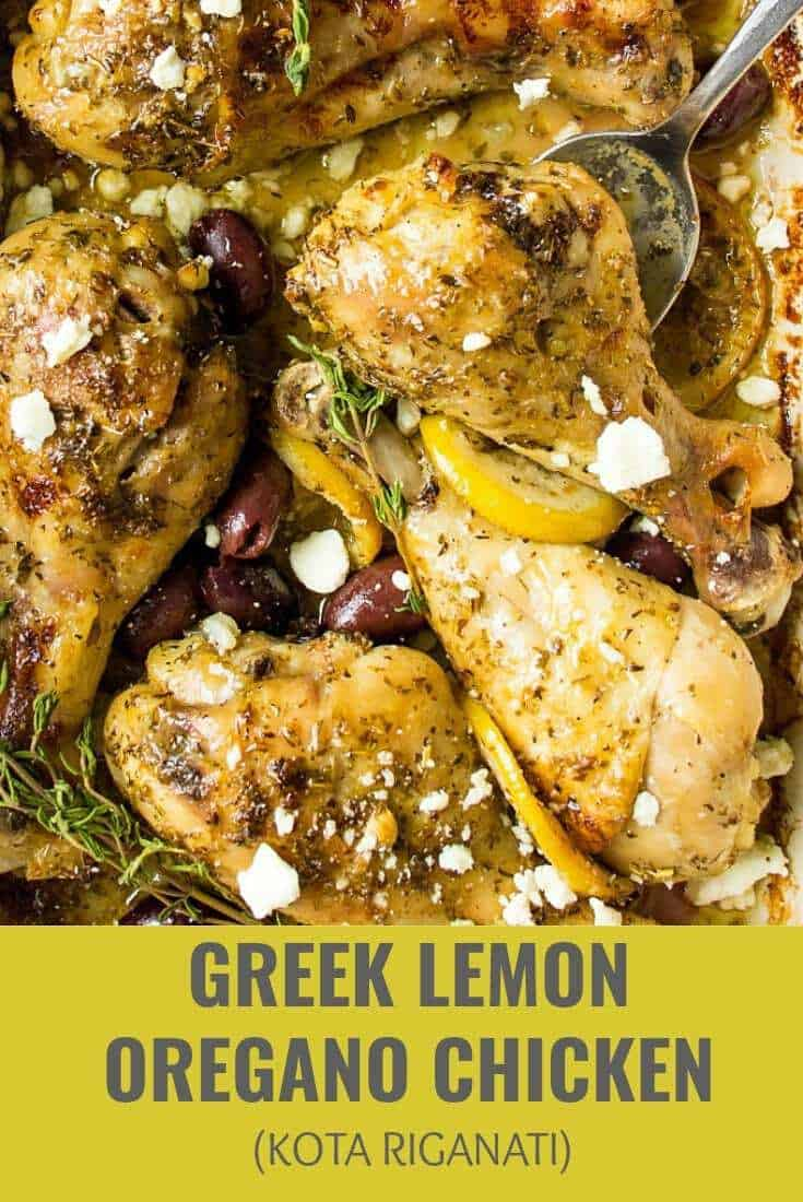 Greek Lemon Oregano Chicken