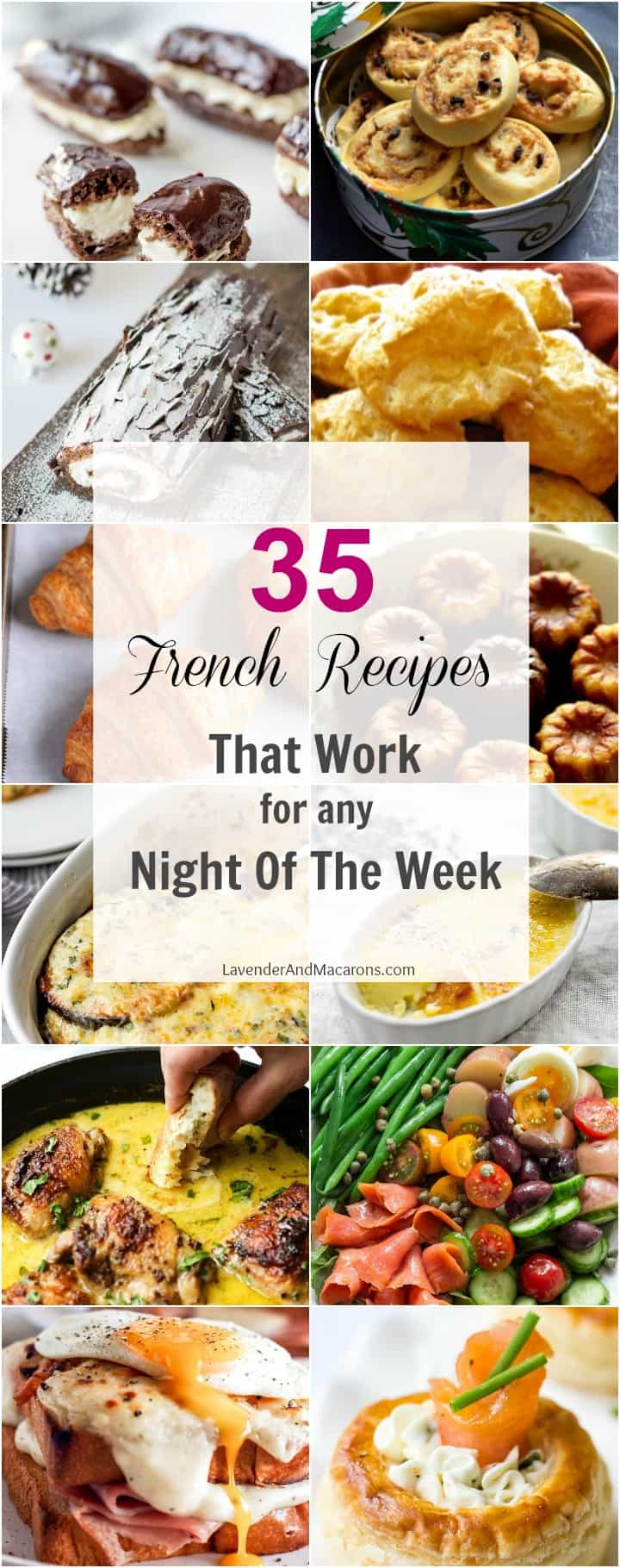 Favorite French Food Tasting Ideas