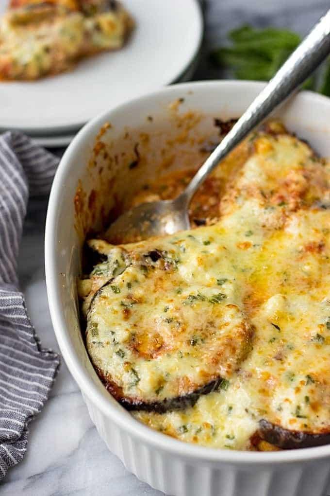 Easy Eggplant Gratin
