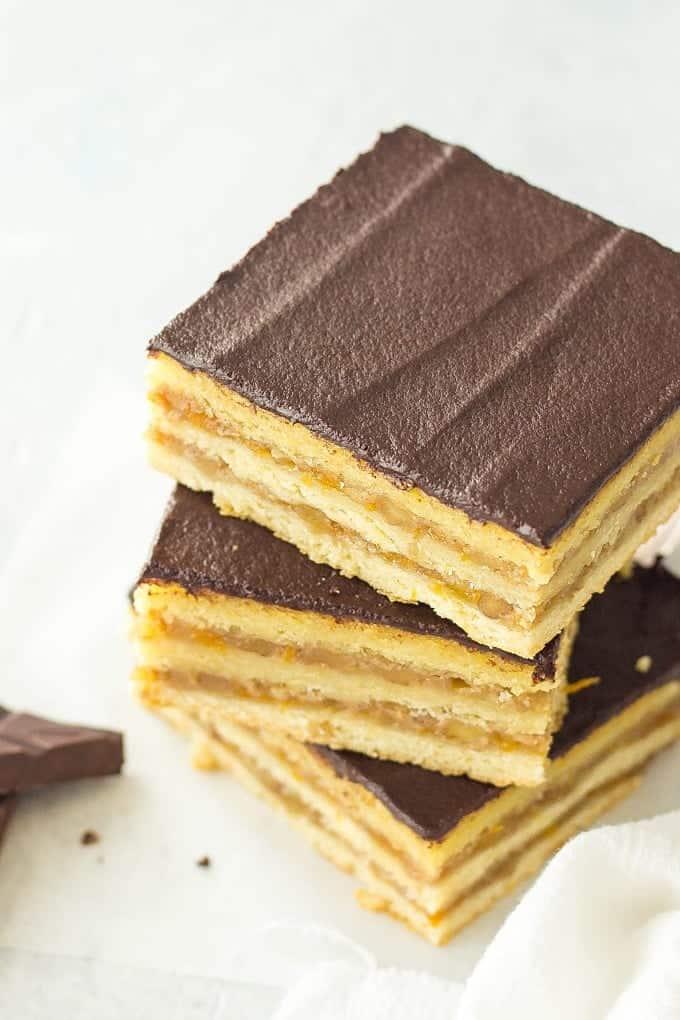 Traditonal Hungarian Dessert - Gerbeaud