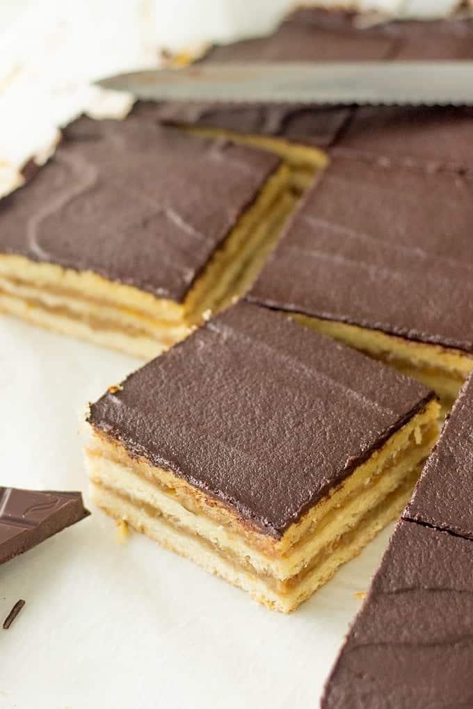 Zserbo Cake - Hungarian Dessert